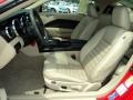 Medium Parchment Front Seat Photo for 2008 Ford Mustang #69409634