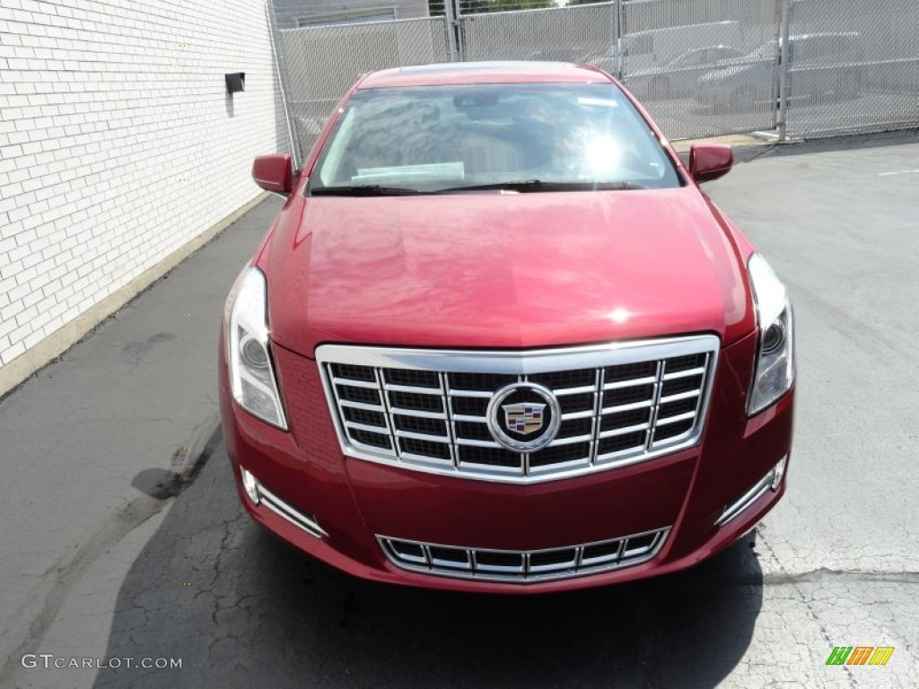 Crystal Red Tintcoat 2013 Cadillac Xts Luxury Fwd Exterior Photo 69411690