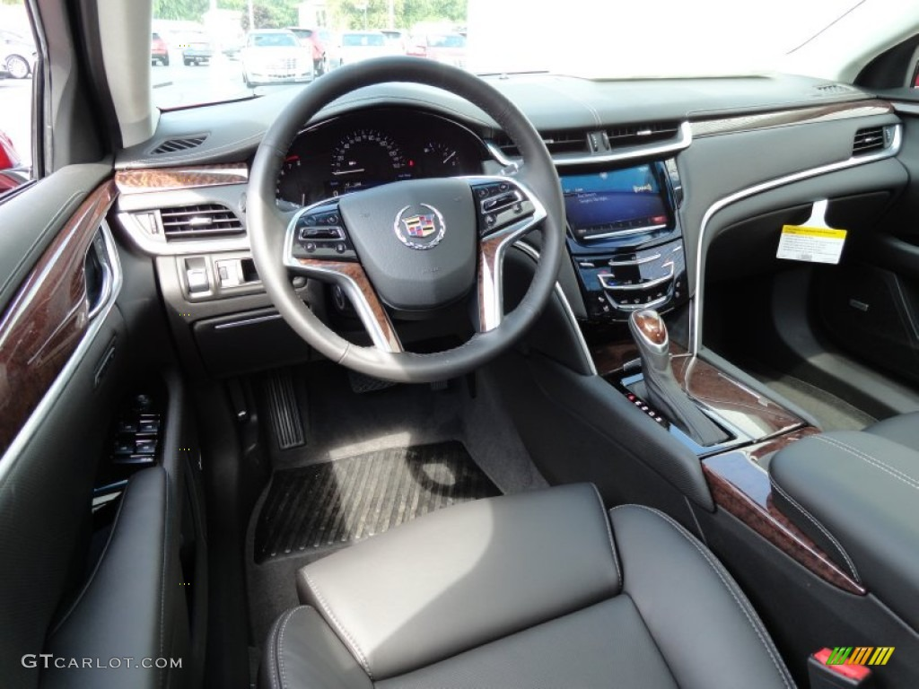 jet black interior 2013 cadillac xts luxury fwd photo 69411770. Black Bedroom Furniture Sets. Home Design Ideas