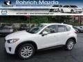 Crystal White Pearl Mica - CX-5 Grand Touring AWD Photo No. 1