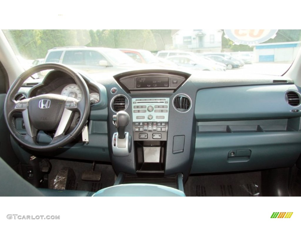 2009 Honda Pilot Ex L 4wd Blue Dashboard Photo 69413164
