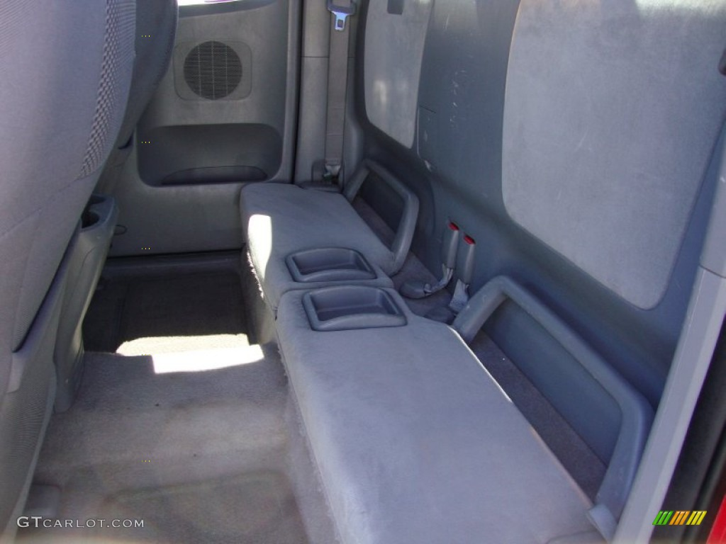 2005 toyota tacoma x runner rear seat photo 69413602. Black Bedroom Furniture Sets. Home Design Ideas