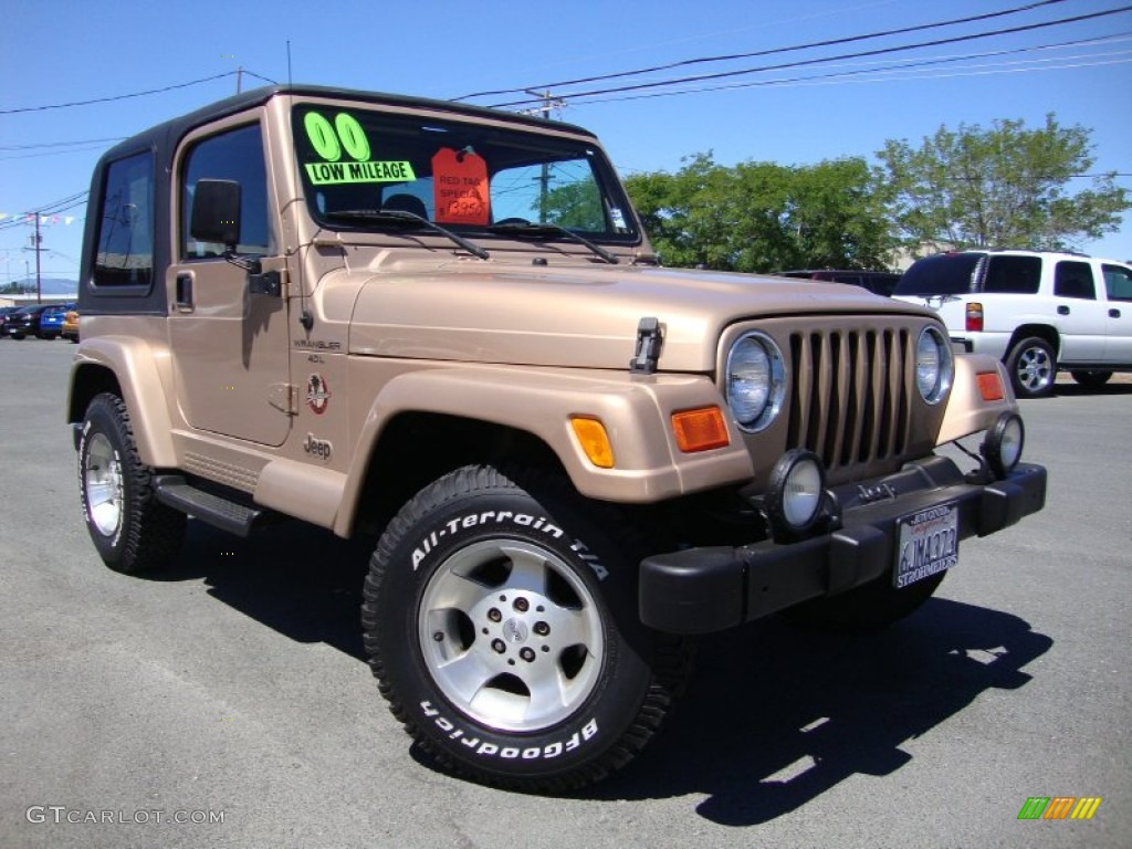 Awesome Desert Sand Pearl Jeep Wrangler
