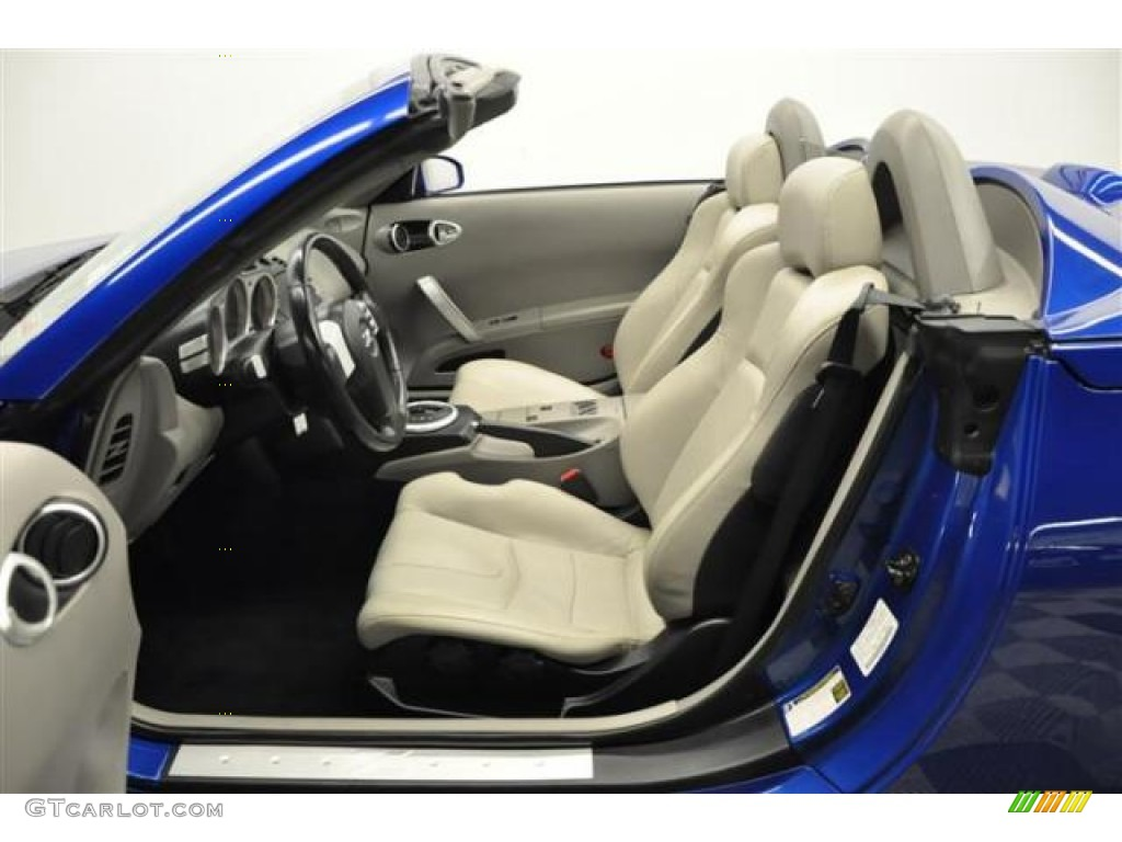 frost interior 2005 nissan 350z enthusiast roadster photo. Black Bedroom Furniture Sets. Home Design Ideas