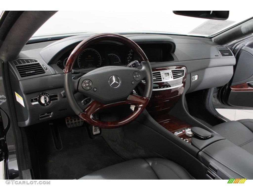 Black Interior 2012 Mercedes Benz Cl 63 Amg Photo 69421951
