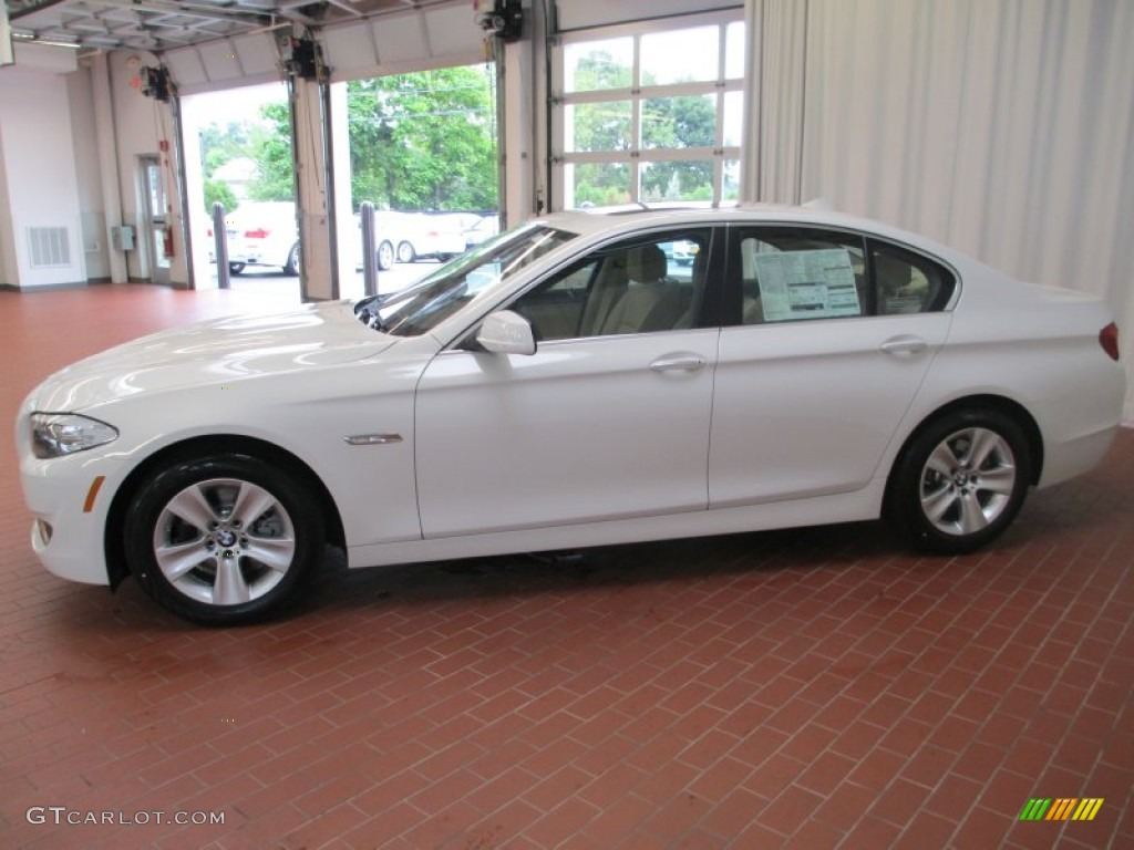 alpine white 2013 bmw 5 series 528i xdrive sedan exterior photo 69425416. Black Bedroom Furniture Sets. Home Design Ideas