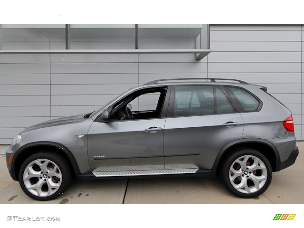 space grey metallic 2009 bmw x5 xdrive48i exterior photo #69426477