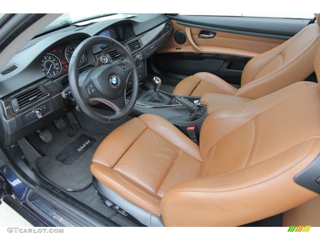 saddle brown dakota leather interior 2009 bmw 3 series 335xi coupe photo 69426778. Black Bedroom Furniture Sets. Home Design Ideas