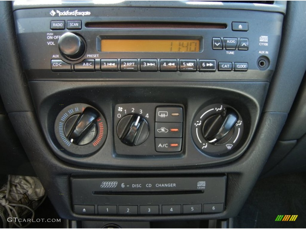 2005 nissan sentra 1 8 s special edition controls photo 69433168. Black Bedroom Furniture Sets. Home Design Ideas