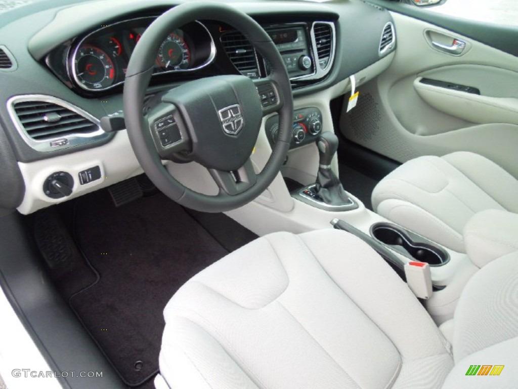 Black Light Diesel Gray Interior 2013 Dodge Dart Sxt Photo 69437761