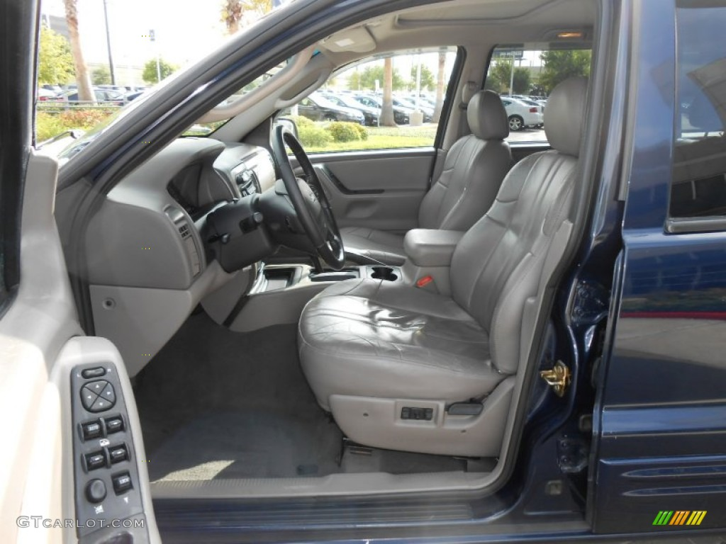 Taupe Interior 2004 Jeep Grand Cherokee Laredo Photo #69439234