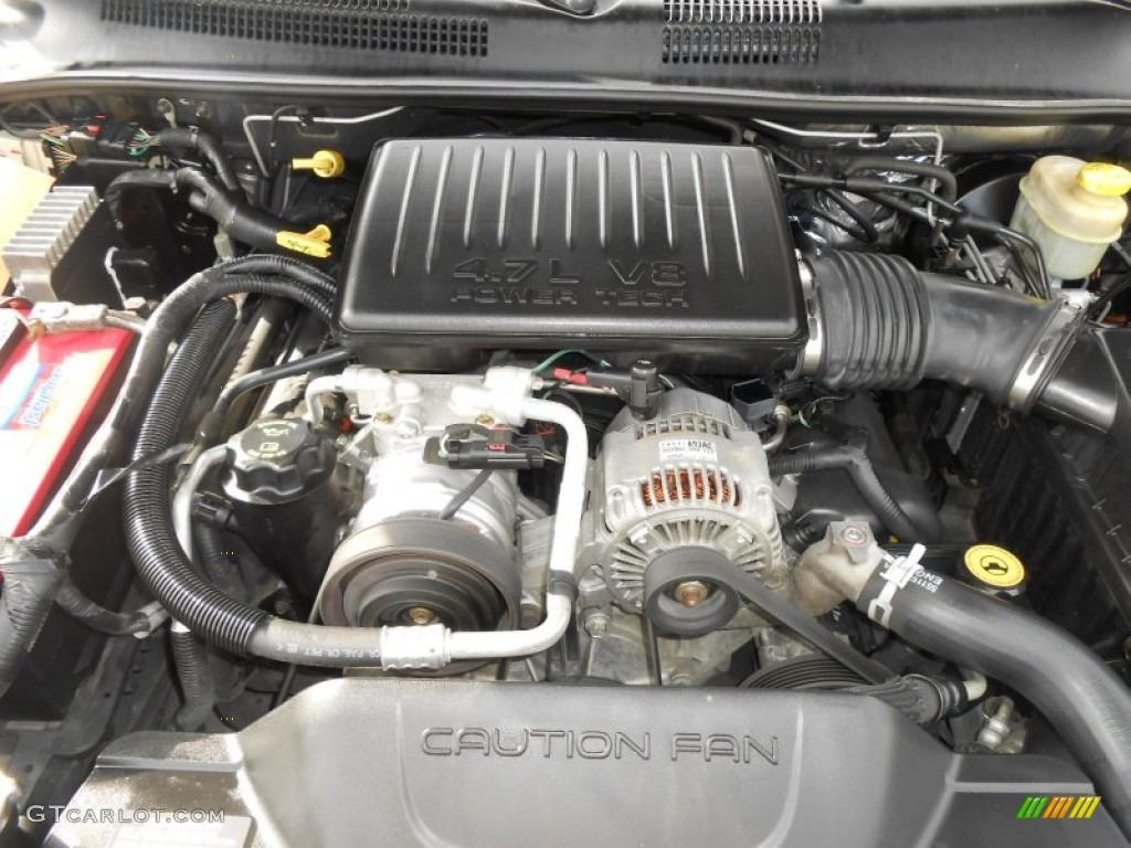 2004 jeep grand cherokee laredo 4 7 liter sohc 16v v8 for Jeep grand cherokee laredo motor