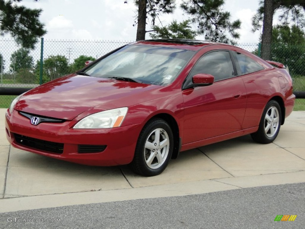 san marino red 2003 honda accord ex l coupe exterior photo 69440095. Black Bedroom Furniture Sets. Home Design Ideas