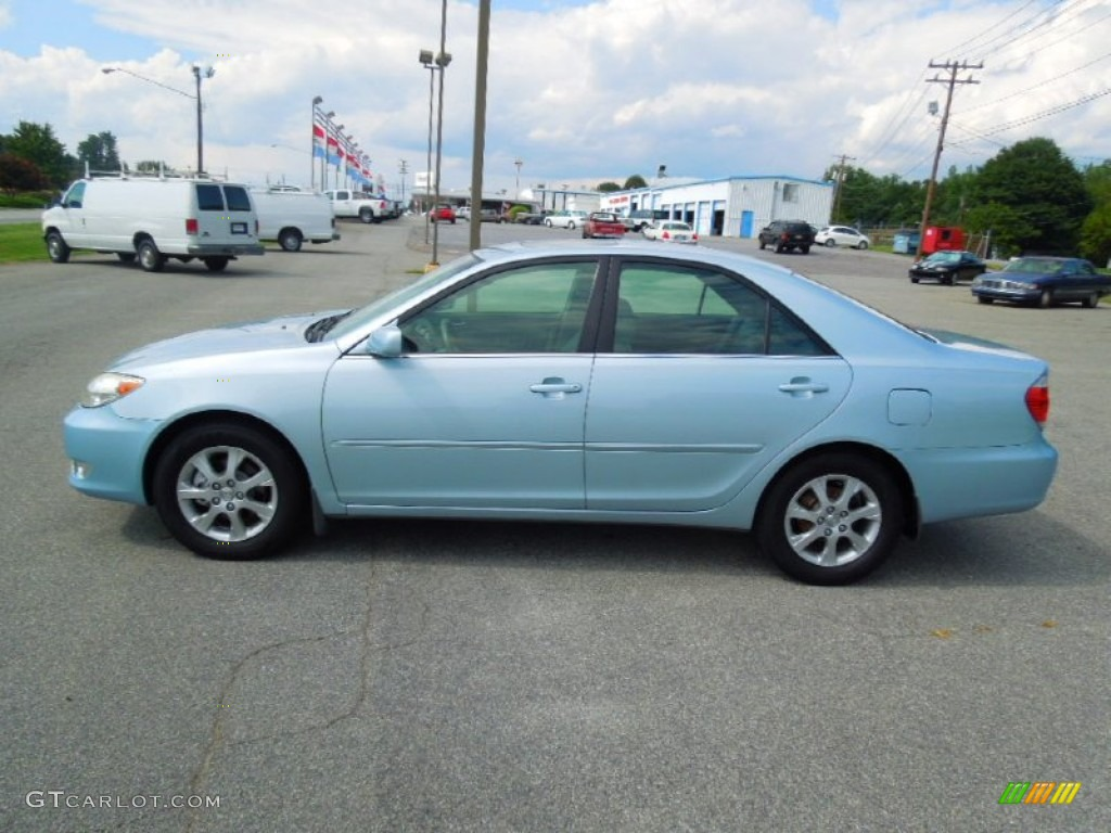 sky blue pearl 2005 toyota camry xle v6 exterior photo 69441727. Black Bedroom Furniture Sets. Home Design Ideas