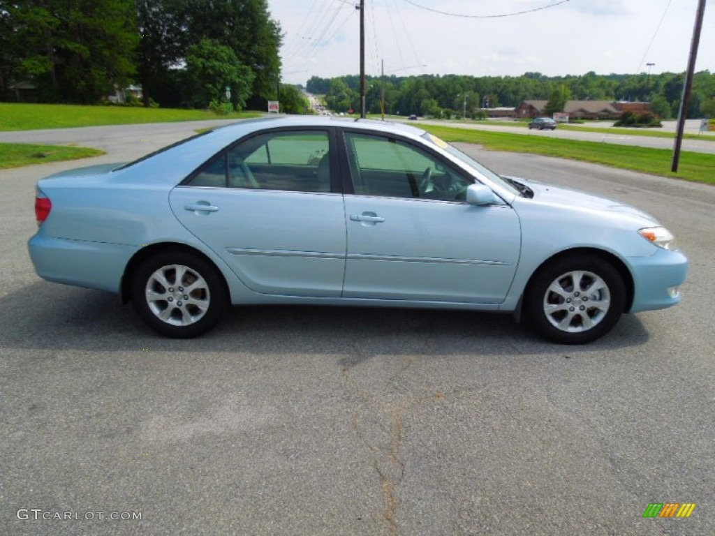 sky blue pearl 2005 toyota camry xle v6 exterior photo 69441757. Black Bedroom Furniture Sets. Home Design Ideas