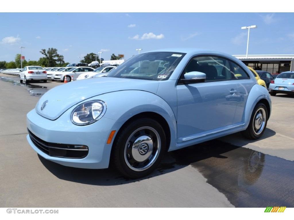 2013 Denim Blue Volkswagen Beetle 2 5l 69404214