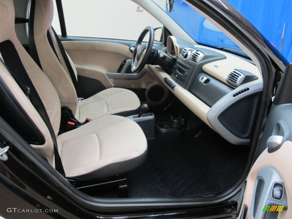 design beige interior 2008 smart fortwo passion coupe photo 69444691. Black Bedroom Furniture Sets. Home Design Ideas