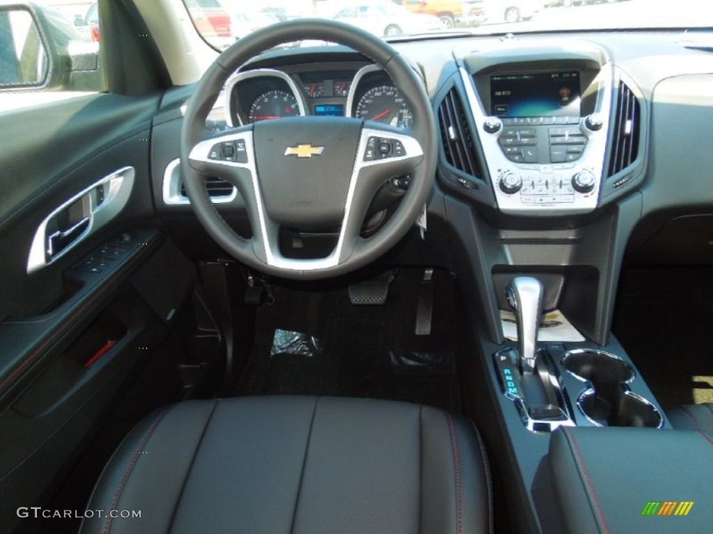 2013 Chevrolet Equinox Lt Jet Black Dashboard Photo