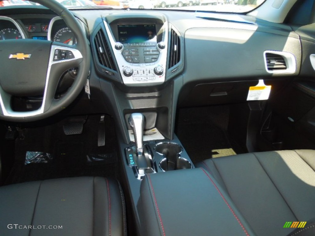 2013 chevrolet equinox lt jet black dashboard photo 69447685. Black Bedroom Furniture Sets. Home Design Ideas