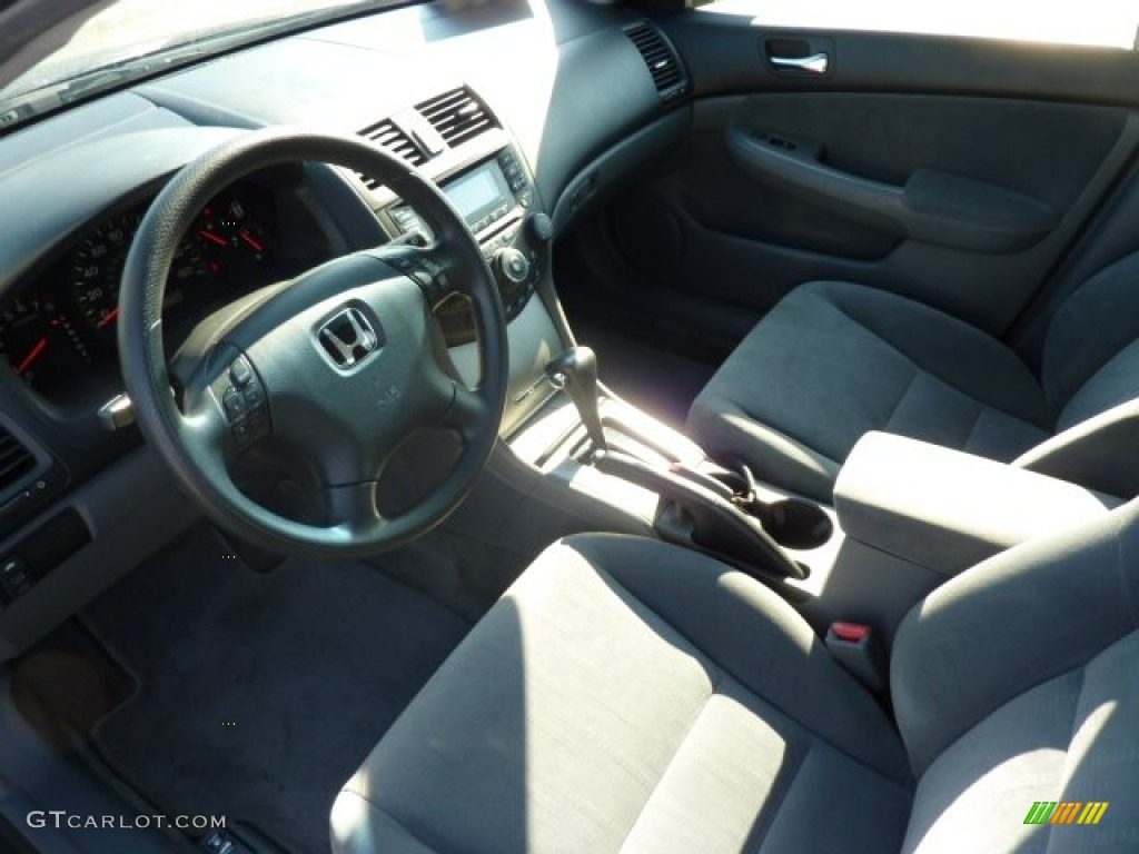 Gray Interior 2003 Honda Accord Ex Sedan Photo 69465493