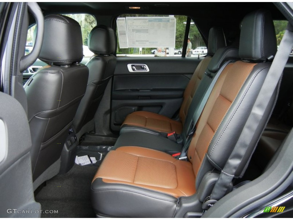 Pecan/Charcoal Black Interior 2013 Ford Explorer Limited EcoBoost Photo  #69471994 Nice Design