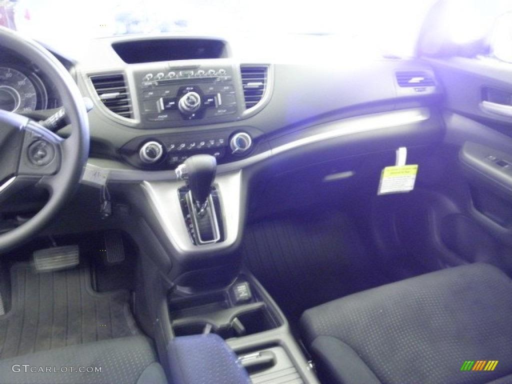 2012 CR-V EX 4WD - Crystal Black Pearl / Black photo #13