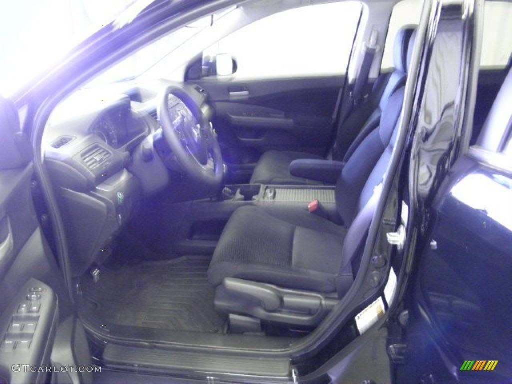 2012 CR-V EX 4WD - Crystal Black Pearl / Black photo #15