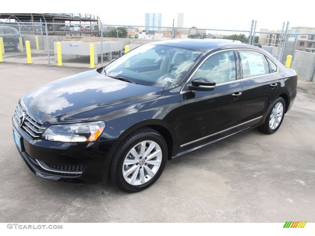 black 2013 volkswagen passat 2 5l sel exterior photo. Black Bedroom Furniture Sets. Home Design Ideas