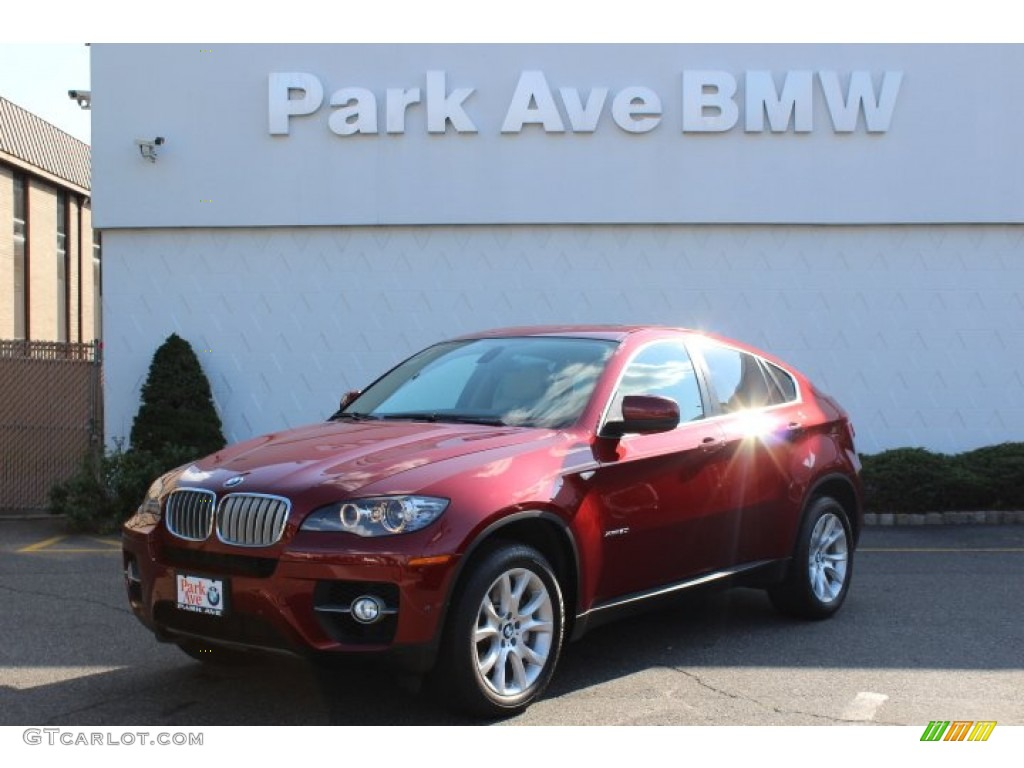 2012 vermillion red metallic bmw x6 xdrive50i 69460822. Black Bedroom Furniture Sets. Home Design Ideas