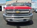 2012 Victory Red Chevrolet Silverado 1500 LT Crew Cab 4x4  photo #7