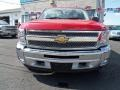 2012 Victory Red Chevrolet Silverado 1500 LT Crew Cab 4x4  photo #8