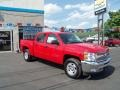 2012 Victory Red Chevrolet Silverado 1500 LT Crew Cab 4x4  photo #9