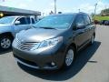 2012 Predawn Gray Mica Toyota Sienna XLE  photo #7