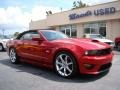 2011 Red Candy Metallic Ford Mustang Saleen S302 Mustang Week Special Edition Convertible  photo #2