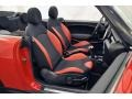 Black/Rooster Red Interior Photo for 2009 Mini Cooper #69493465