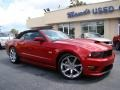 2011 Red Candy Metallic Ford Mustang Saleen S302 Mustang Week Special Edition Convertible  photo #28