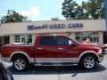 2011 Deep Cherry Red Crystal Pearl Dodge Ram 1500 Laramie Crew Cab 4x4  photo #1