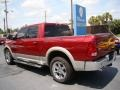 2011 Deep Cherry Red Crystal Pearl Dodge Ram 1500 Laramie Crew Cab 4x4  photo #6