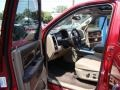 2011 Deep Cherry Red Crystal Pearl Dodge Ram 1500 Laramie Crew Cab 4x4  photo #9