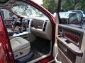 2011 Deep Cherry Red Crystal Pearl Dodge Ram 1500 Laramie Crew Cab 4x4  photo #12