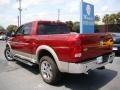 2011 Deep Cherry Red Crystal Pearl Dodge Ram 1500 Laramie Crew Cab 4x4  photo #31