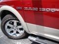 2011 Deep Cherry Red Crystal Pearl Dodge Ram 1500 Laramie Crew Cab 4x4  photo #37