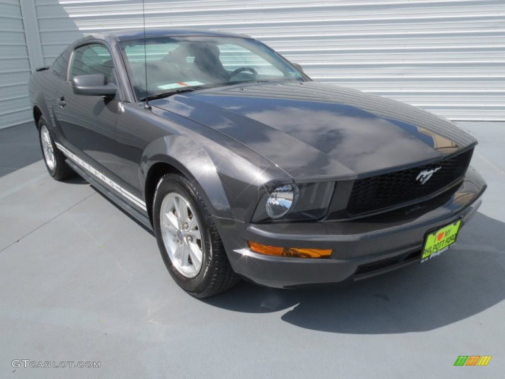 2007 alloy metallic ford mustang v6 deluxe coupe 69461015 car color galleries. Black Bedroom Furniture Sets. Home Design Ideas