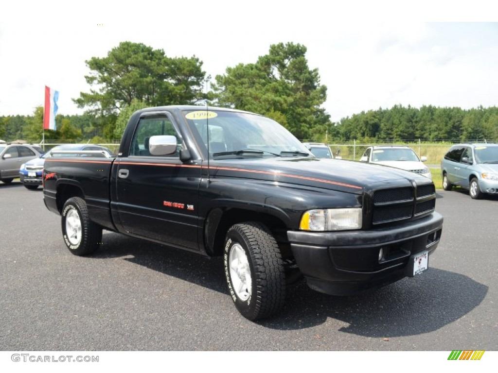 black 1996 dodge ram 1500 sport regular cab exterior photo 69518203. Black Bedroom Furniture Sets. Home Design Ideas