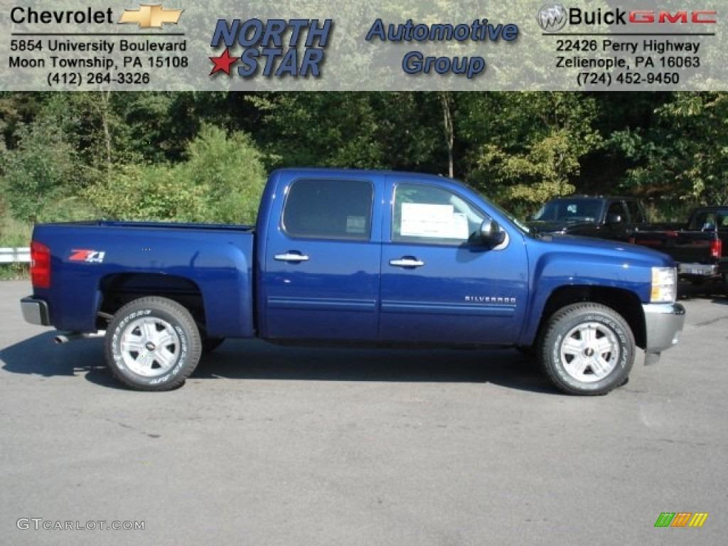 Blue Topaz Metallic Chevrolet Silverado 1500