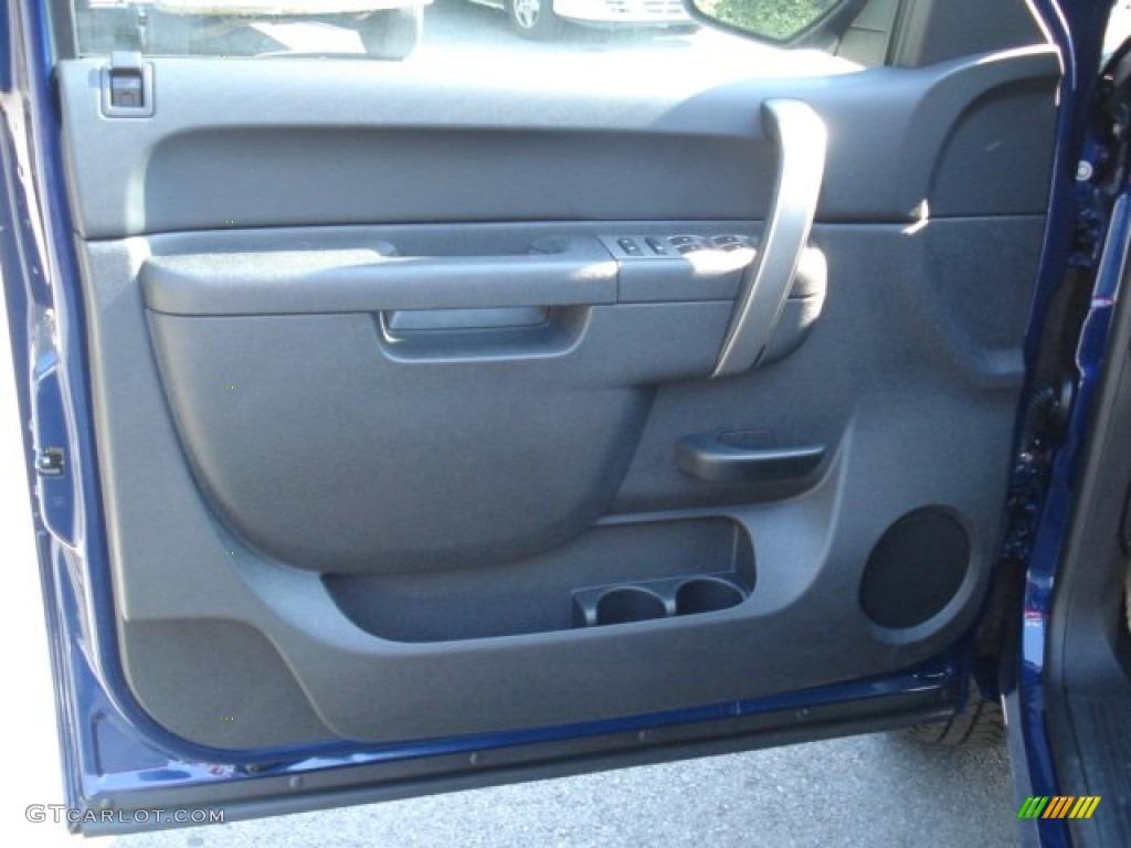 2012 Silverado 1500 LT Crew Cab 4x4 - Blue Topaz Metallic / Ebony photo #12