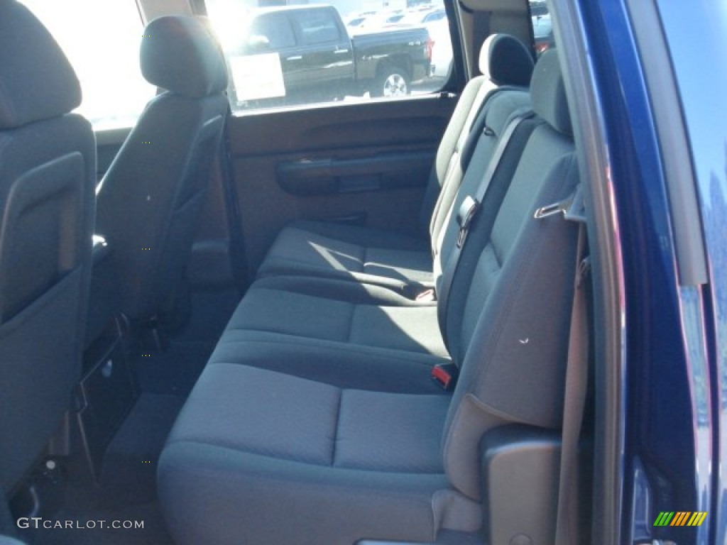 2012 Silverado 1500 LT Crew Cab 4x4 - Blue Topaz Metallic / Ebony photo #13