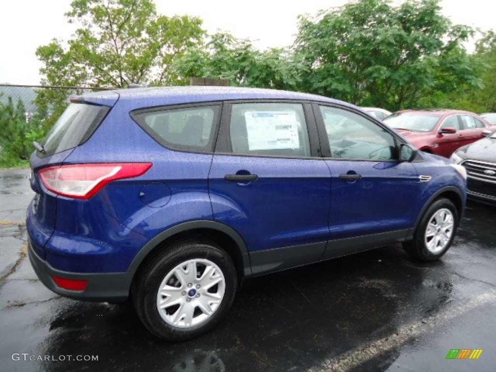 Deep impact blue metallic 2013 ford escape s exterior photo 69530010