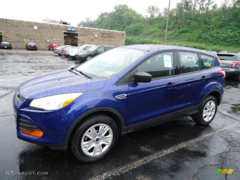 Deep impact blue metallic 2013 ford escape s exterior photo 69530037