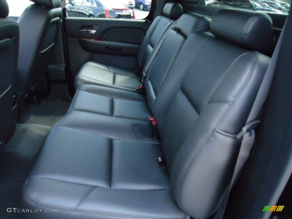 chevrolet avalanche interior ebony - photo #30